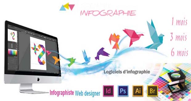 Formation Infographie, formation infographiste